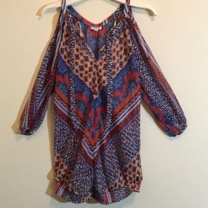 A Pea in the Pod Tunic Sheer Blouse